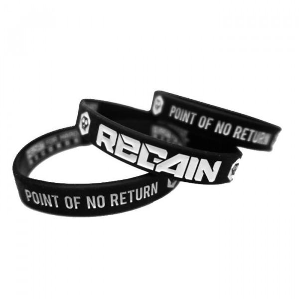 """Point of no Return"" Silicone Wristbands"